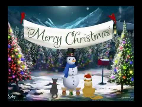 Merry christmas greetings on youtube xmast 3 merry christmas video card greeting youtube m4hsunfo