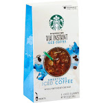 Starbucks Via Ready Brew Iced Coffee, Lightly Sweetened - 6 pack, 5.6 oz box