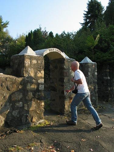 Dean enters the gate