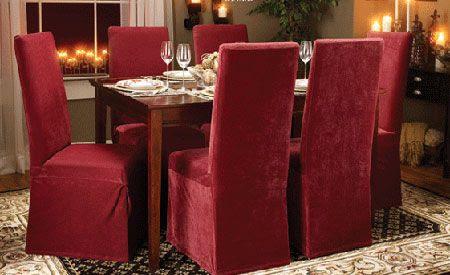 Dormitorio muebles modernos fundas para sillas comedor for Fundas para muebles de sala modernos