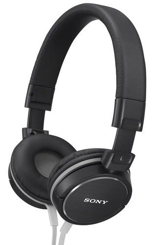 Sony MDR-ZX600 Headphones black