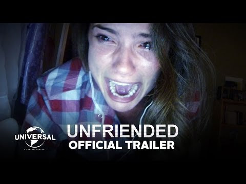 Universal Pictures' Unfriended unfolds over a teenager's computer screen as she and her friends are stalked by an unseen figure who seeks vengeance for a shaming video that led a vicious bully to kill herself a year earlier.