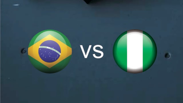 Nigeria versus Brazil who comes out tops...