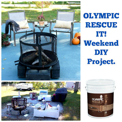 Olympic Rescue It! A DIY Weekend Project and Giveaway! - DIO Home Improvements