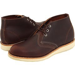 Red Wing Men's Heritage Work Chukka,Brown Briar Oil Slick Leather,US 6 2E