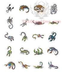 Scorpion Tattoos Designs Collection