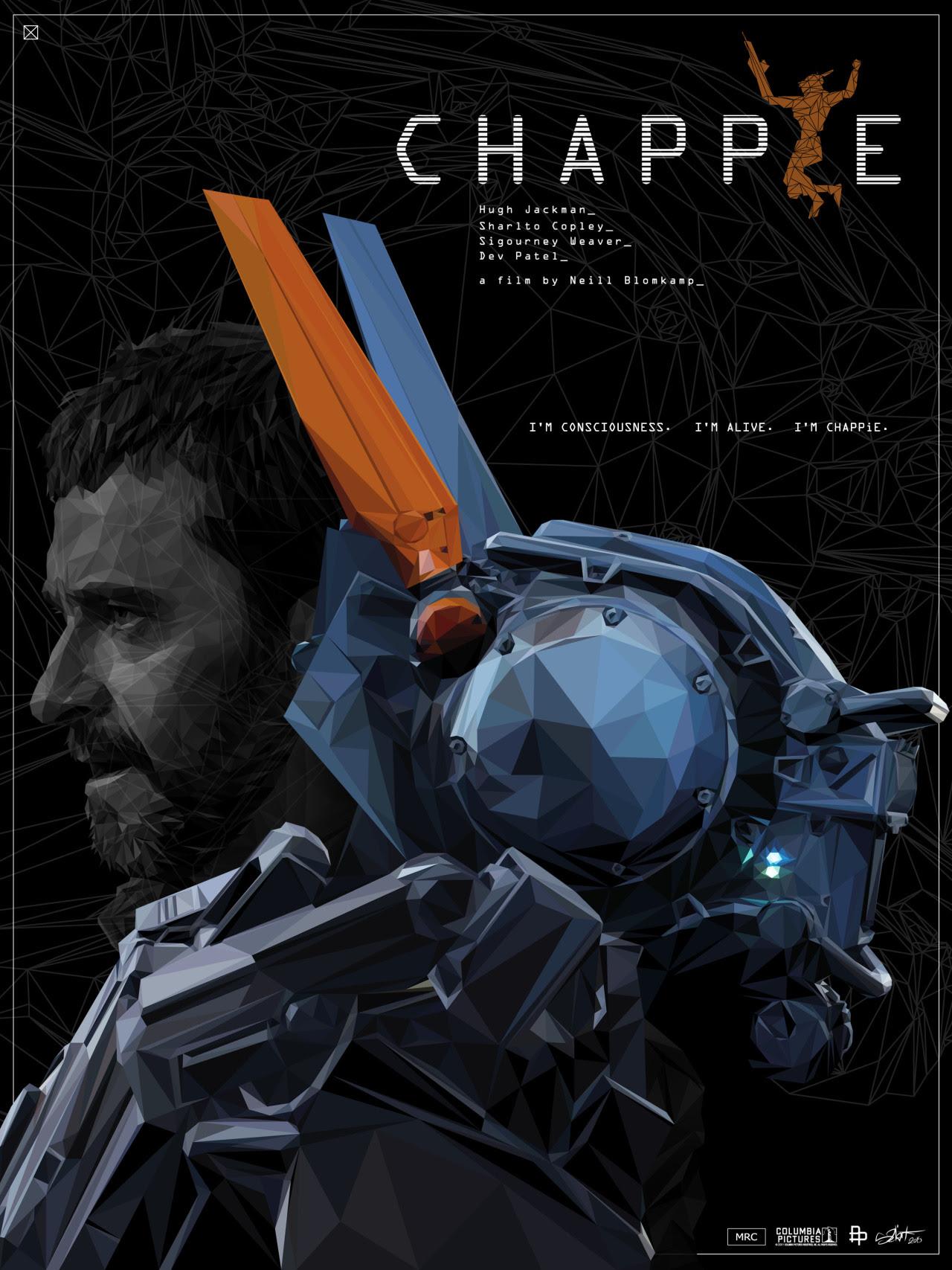 fan poster for Chappie