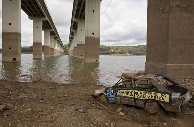 Sistema Cantareira pode secar em julho se chuvas se mantiverem abaixo da média, segundo Cemaden (Foto: Andre Penner/AP)