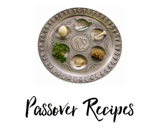 Passover Recipe Index - Kosher Passover Recipes