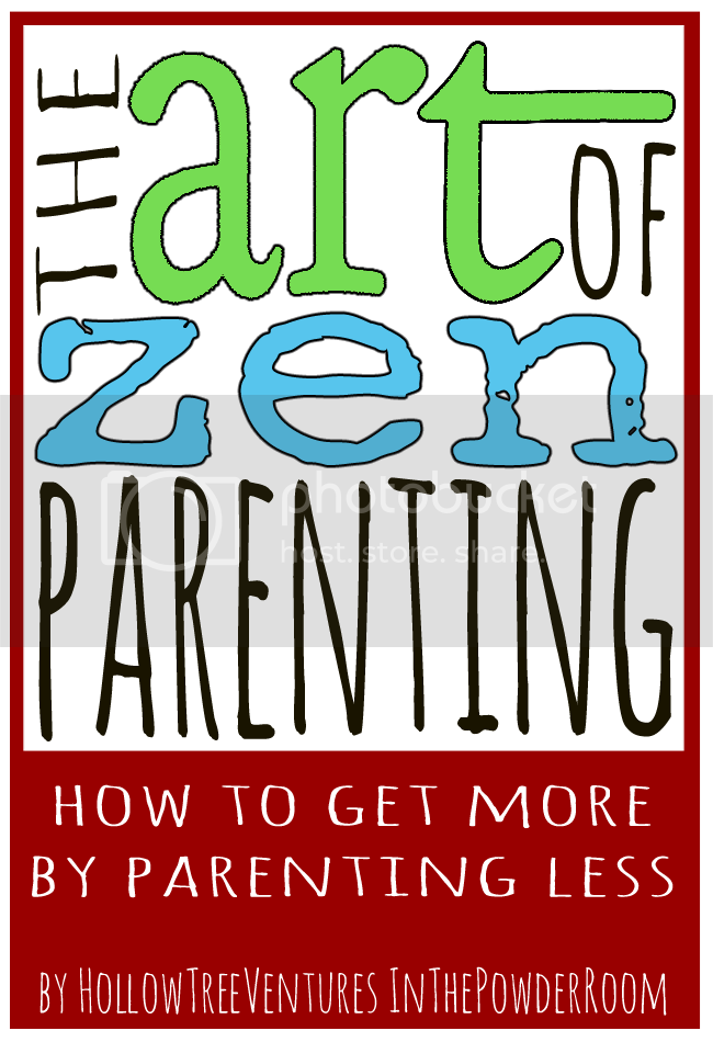 art of zen parenting by Robyn Welling @RobynHTV