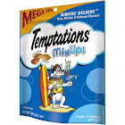 Temptations Mix Ups Treats for Cats, Surfers' Delight - 6.3 oz pouch