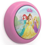 Philips Disney Princess Battery Powered LED Push Touch Kids Toddler Night Light by VM Express