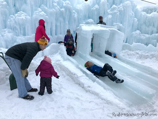 Stillwater Ice Castles (Minnesota) & Coupon - Real Housewives of Minnesota