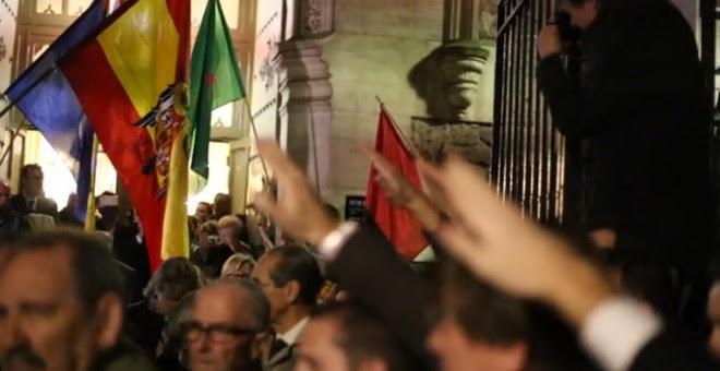 Misa homenaje a Franco