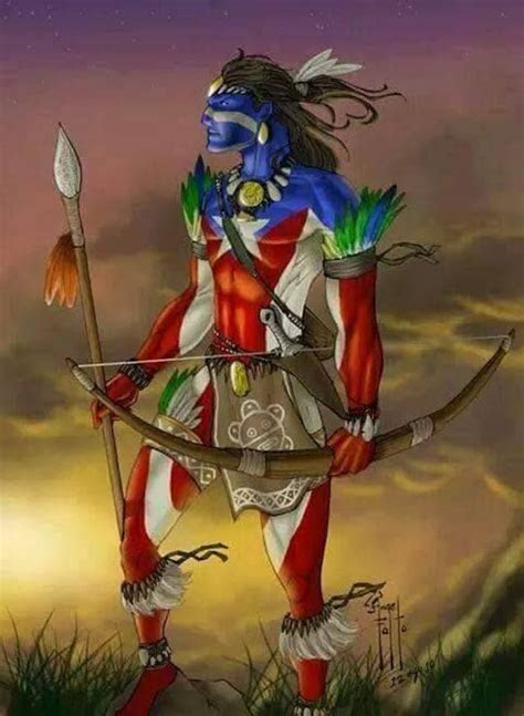 taino warrior puerto rican history  culture pinterest