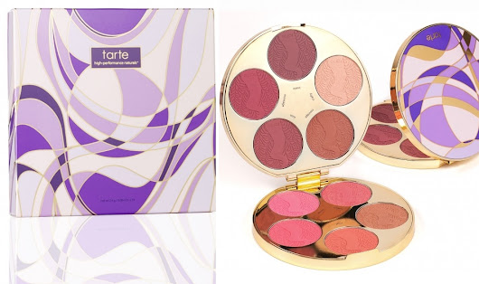 Review: [Tarte] Color Wheel Amazonian Clay Blush Palette (Limited-Edition)