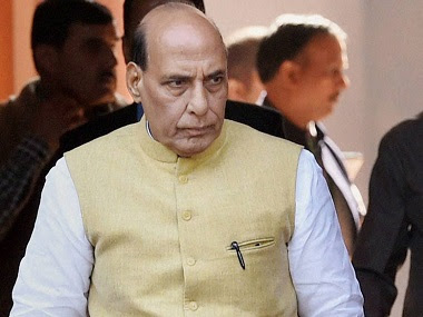 File image of Defence Minister Rajnath Singh. News18