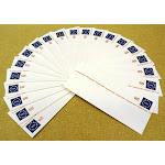 USPS Scott U614 25c Envelope Philatelic Mail Stars & USA Lot of 20 Blue Red -- New
