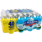 Ice Mountain Natural Spring Water - 40 pack, 16.9 fl oz bottles