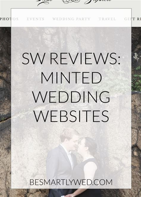 Smartly Wed reviews: Minted wedding websites