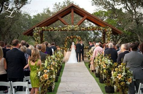 Hill Country Wedding Venue   Boulder Springs in New