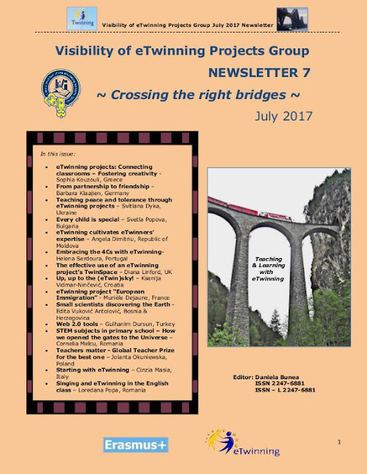 Visibility of eTwinning Projects Group Newsletter 2017 No. 7