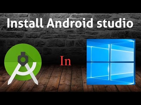 how to install android studio in windows