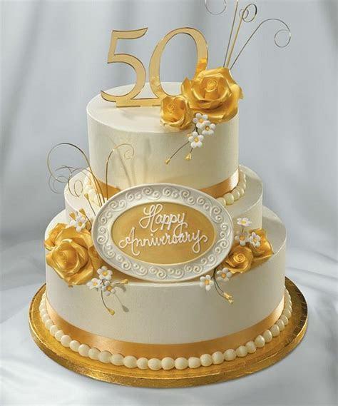 Enchanting 50th Wedding Anniversary Cake Ideas