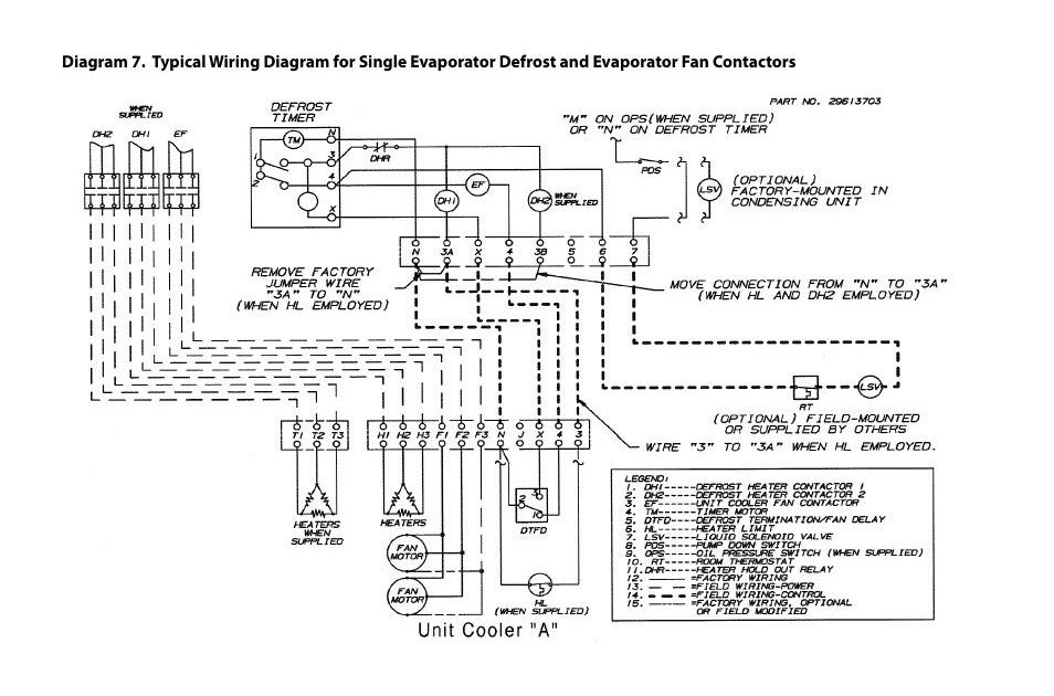 Evaporator Wiring Diagram