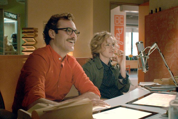 Joaquin Phoenix en Her - fotograma de la película