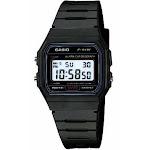Casio F91w-1 Classic Resin Strap Digital Sport Watch - Black