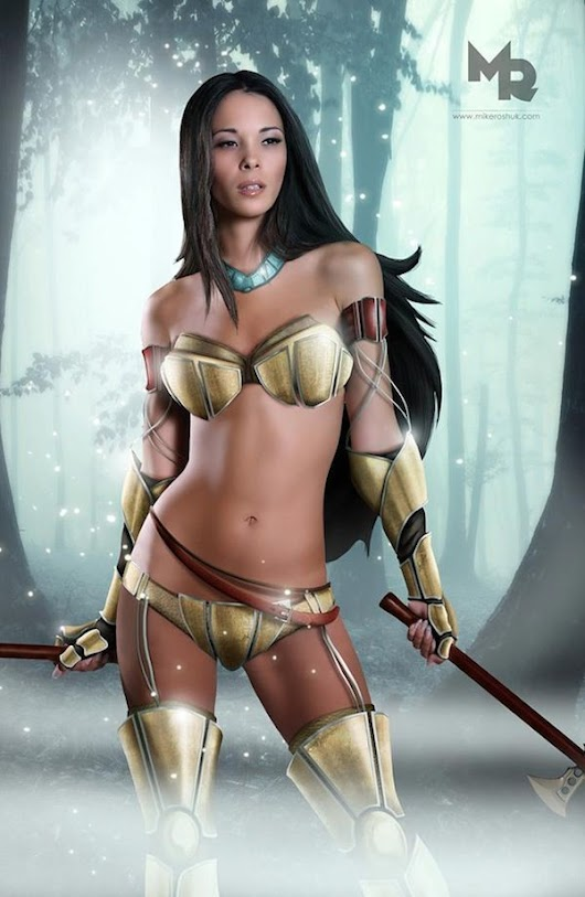 Image: Disney Princesses Reimagined As Sexy Princess Warriors | Armor ...