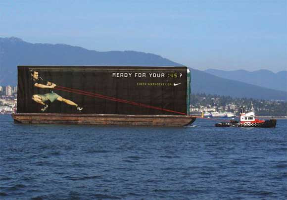 Nike: Barge resistance creative ad