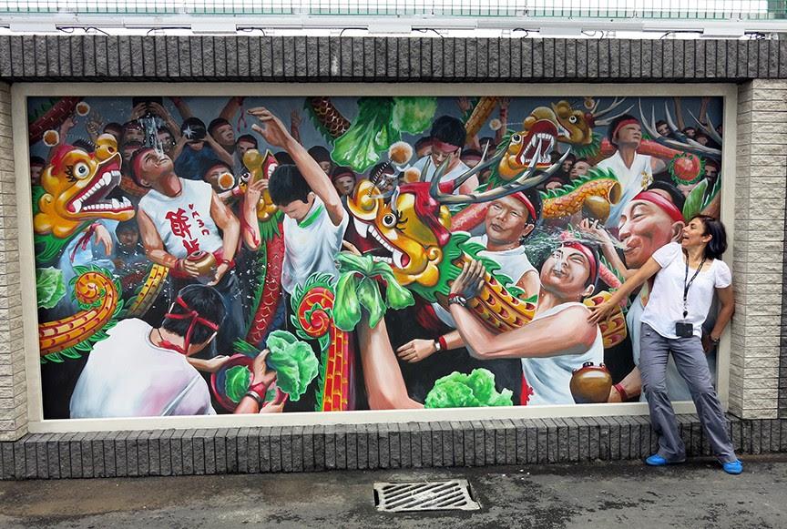 3d Street Art Murals Launch New Broadway Macau Hotel