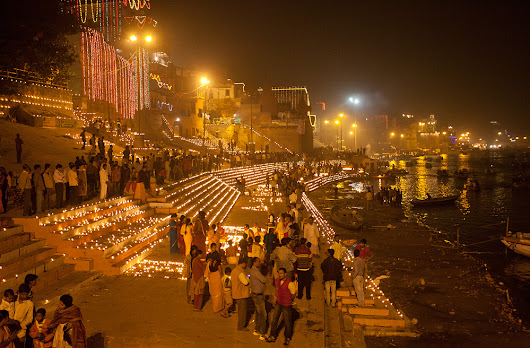 Varanasi - Photographing Karthika Poornima/Dev Diwali Festival and Ancient Traditions - Darter Photography