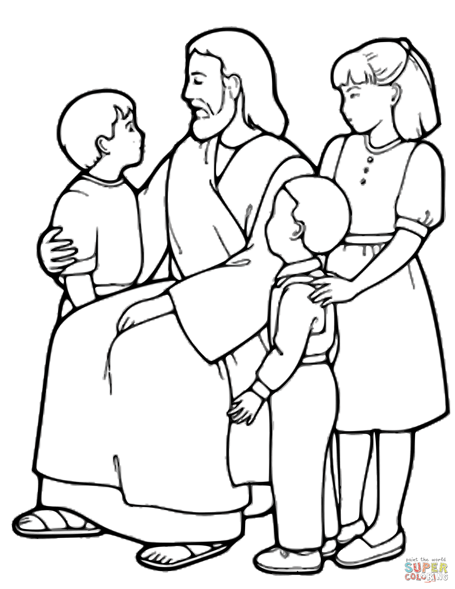 Luxury Jesus is Our Good Shepherd Coloring Pages | Top ...