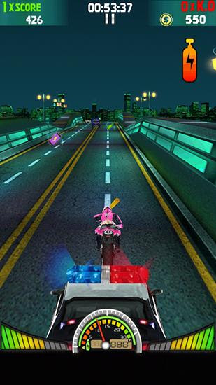 Screenshots of the Moto violence: Hot chase for Android tablet, phone.