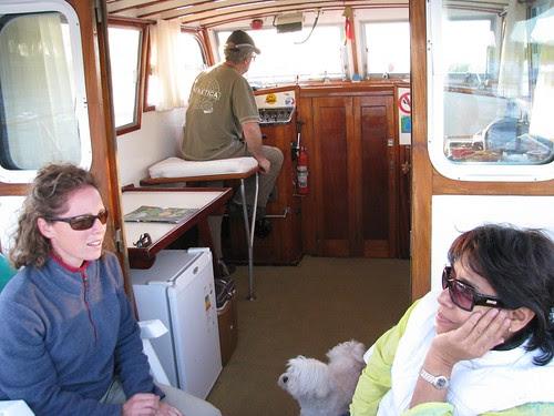 cruising with Martin and Estela