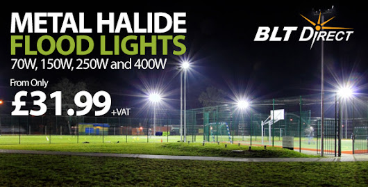 Metal Halide Flood Light Range Updated - BLT Direct