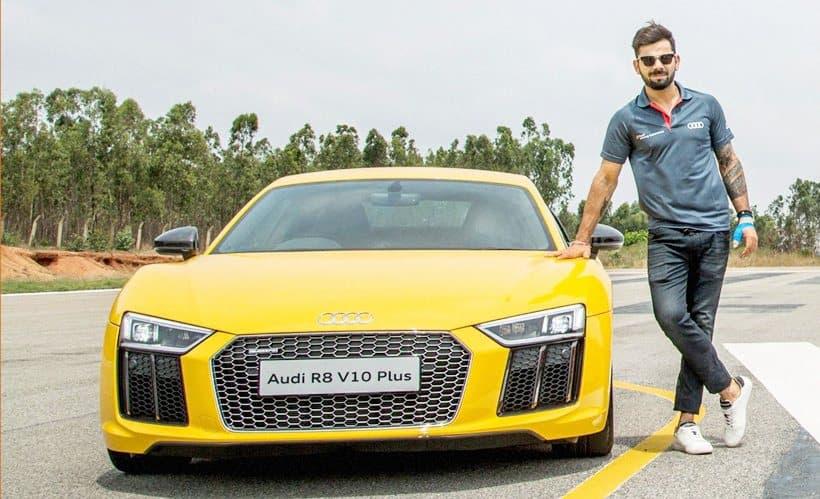 NEW TECHNOLOGY Virat Kohli Launches Audi R V Plus Priced - Audi audi car
