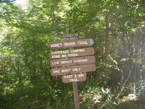 Mount Greylock via the Money Brook Trail and descent via Hopper Trail