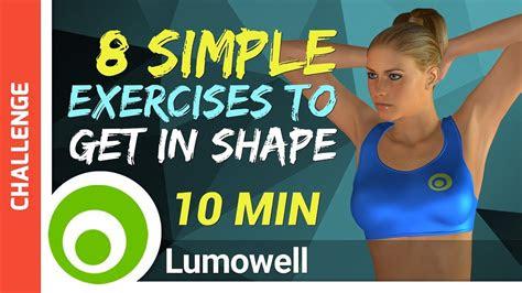 simple exercises    shape fast youtube