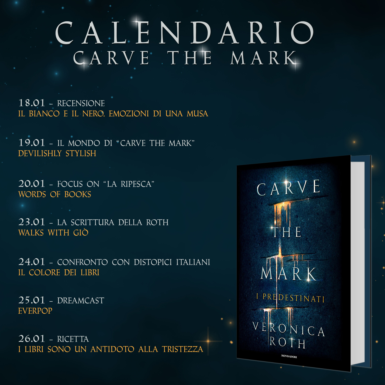 Calendario Carve the mark