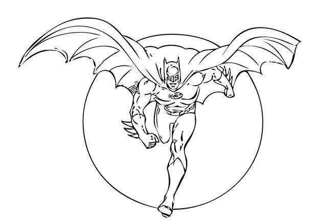 310 Dibujos De Batman Para Colorear Oh Kids Page 14
