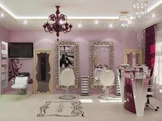 Beauty Salon on Pinterest
