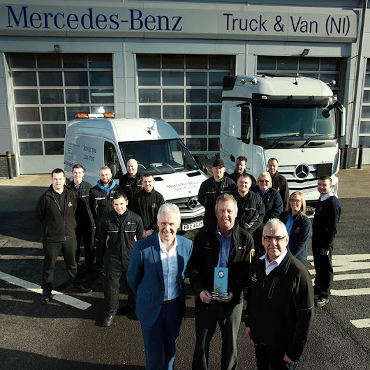 Mercedes-Benz Truck & Van is first for service - FleetPoint