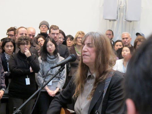 Patti Smith @ MoMA by Cass Kvenild