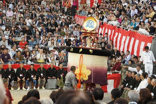 長崎くんち2012・江戸町・傘鉾