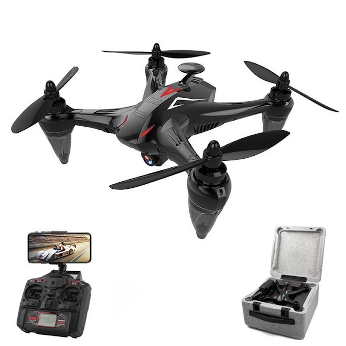 LeadingStar GW198 Professional GPS Drone with 5G WiFi FPV Camera Follow Me Upgrade Quadrocopter Brushless RC Drone