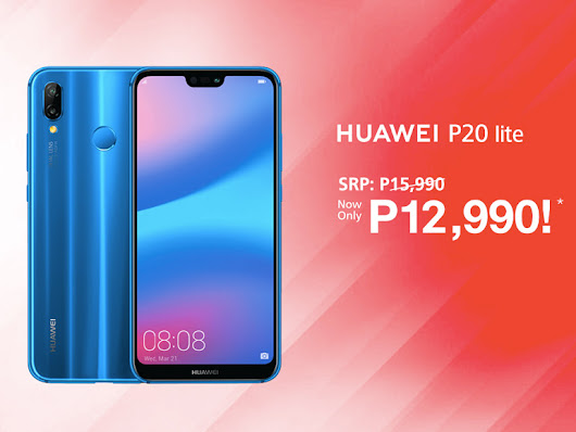 Price drop alert: Huawei P20 Lite now only P12,990 - Technobaboy Philippines